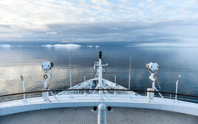 Cruising north towards the Falklands